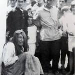 8. Искалеченная женщина, жертва погрома в с. Дурашна. Украина, 1919г.