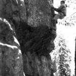 Зимние скалы на Ладоге