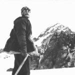 Портрет на фоне пика Комсомола