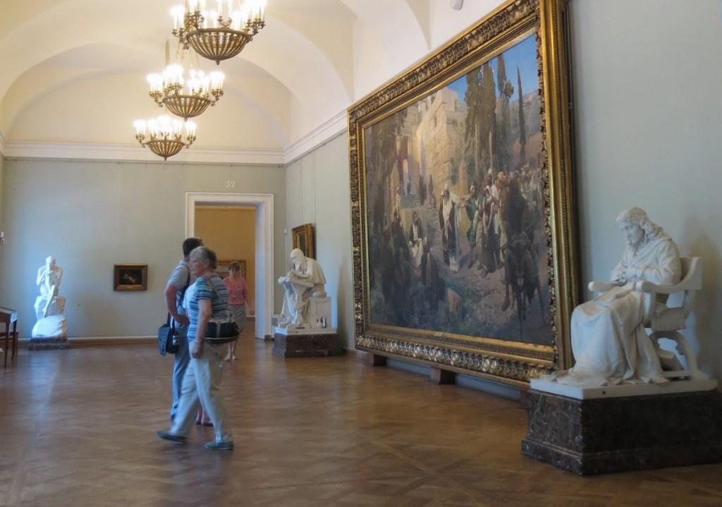 С.Петербург. Русский музей. Зал Антокольского и Поленова (2)