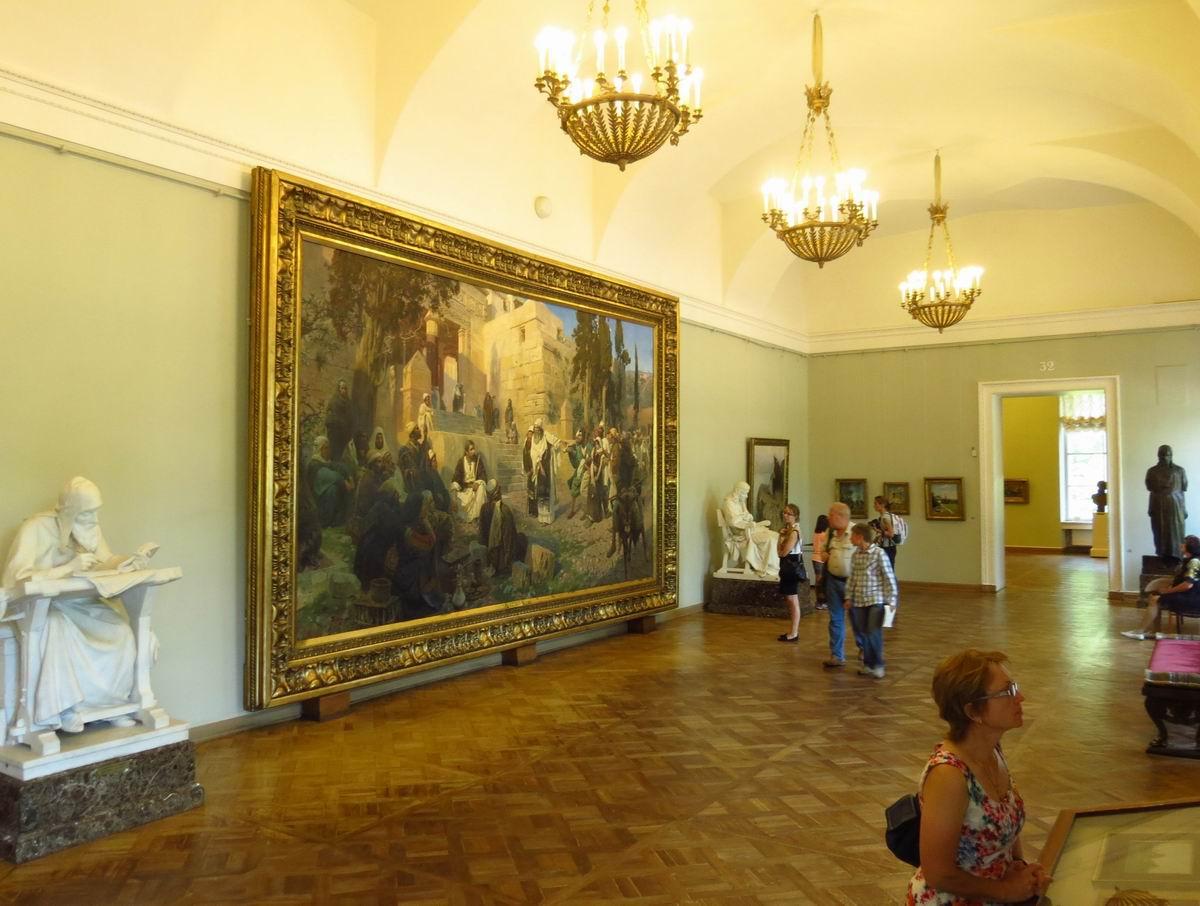 С.Петербург. Русский музей. Зал Антокольского и Поленова (1)