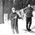 На лыжной тренировке в Кавголово