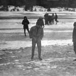 На льду озера Суходольское.