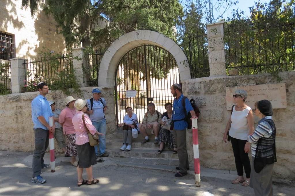 Ворота монастыря Сен-Симон с юго-западной стороны